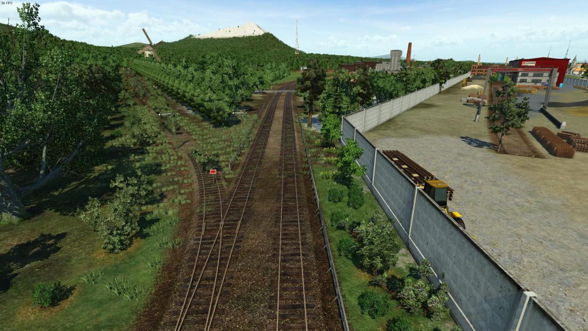 Stillgelegte Strecke bei Baruth/Mark (WIP)