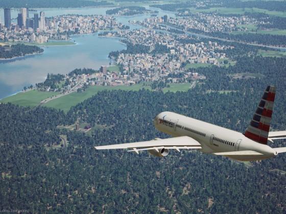 "Boeing 757 ""American Airlines"