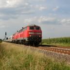 Marschbahn-IC Richtung Hamburg