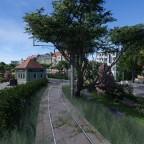 Überlandtram Einfahrt Hbf Ost / Overland tram east