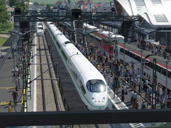 Generationen Treffen der ICE Züge