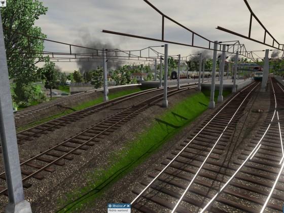 Mal eine etwas andere Sicht eines Bahnhofs ;)