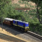 """Faur L45H im Einsatz auf der Inselbahn """"Korsika"""""""