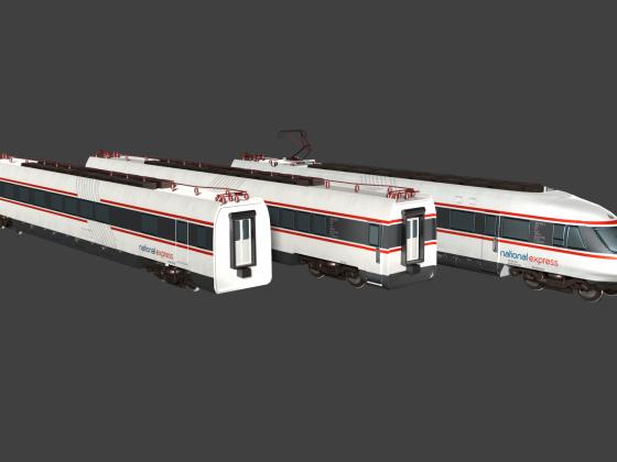 BR ET 403/404 NX RAIL Render