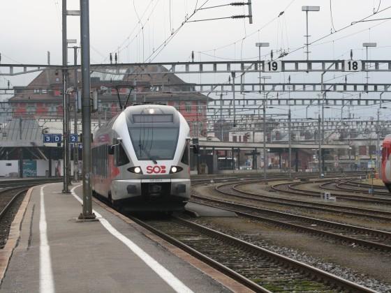 SOB RABe 526 053-4 als S31 nach Biberbrugg