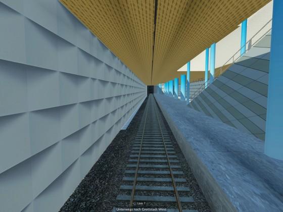 Untergrundstation erstrahlt im neuen Design