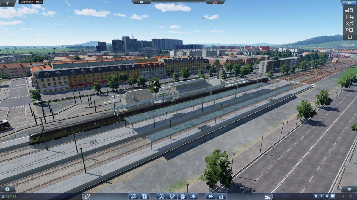 Am Rosenfeldener Nordbahnhof