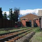 Tiny American steam depot #1