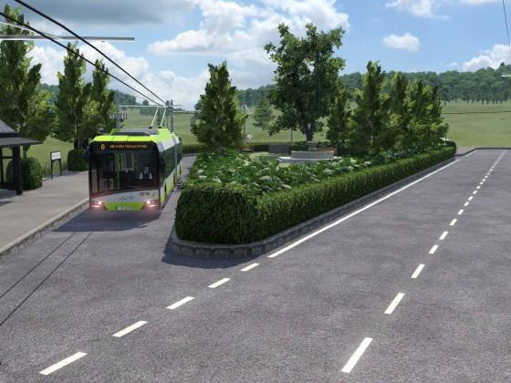 Trolleybus in the Trolleyloop (WIP)