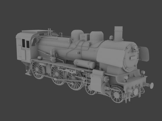 Baureihe 38 DB - rechte Seite