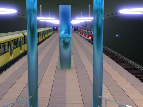 Im U-Bahntunnel