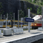 Der Bahnhof Laubenbachmühle im Jahr 2012