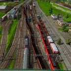 Bahnhofsvorfeld Worthing von Westen