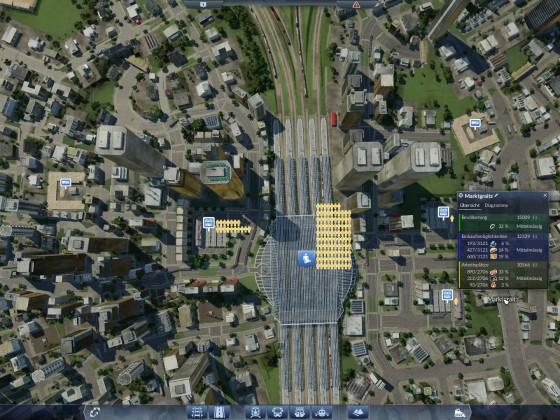 Große Stadt mit 15000 Einwohnern