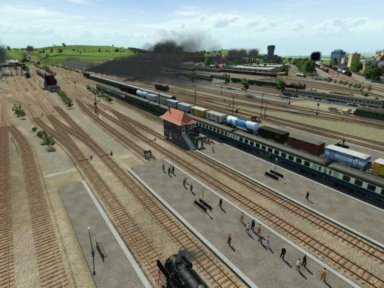 Bahnhof 1900 - Bereich West_01