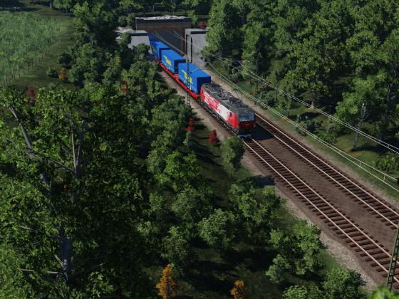 ÖBB 1293 018-8 (Die 500. Lok von Siemens für die ÖBB)