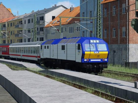 MAK DE 2700 mit Ersatzzug