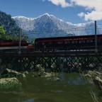 EP5 crossing the old bridge