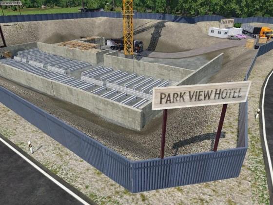 Baustelle Parkhotel