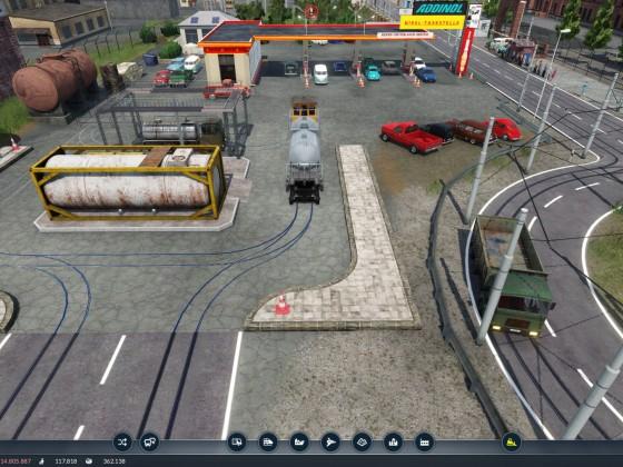 SW 12 Treibstofflager und Tankstelle