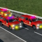 Chevrolet fire rescue SUV completed. lol