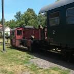 Köf im Bahnpark Augsburg