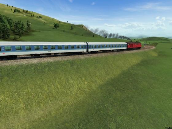 InterRegio auf nicht elektrifizierter Bergstrecke 3