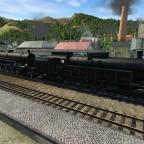 Personenzug mit BBÖ 729 und 113
