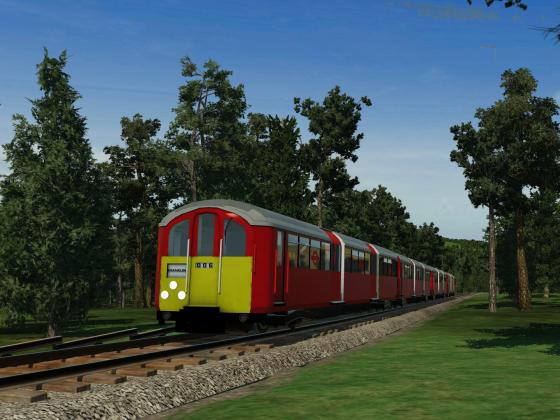 TFL  -  Tube-Zug im Wald
