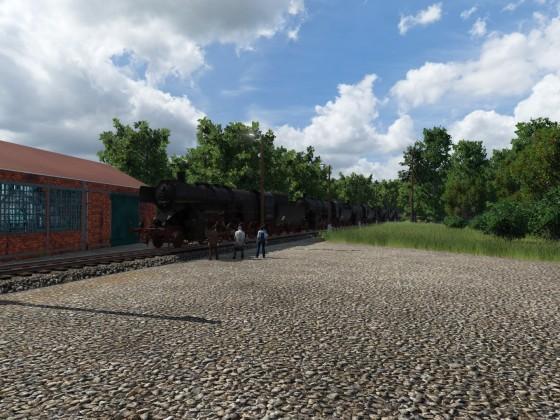 Reichsbahnausbesserungswerk (RAW) Sprongstadt