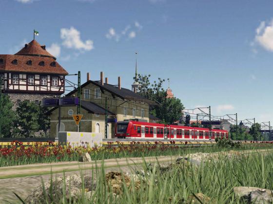 Suburban station