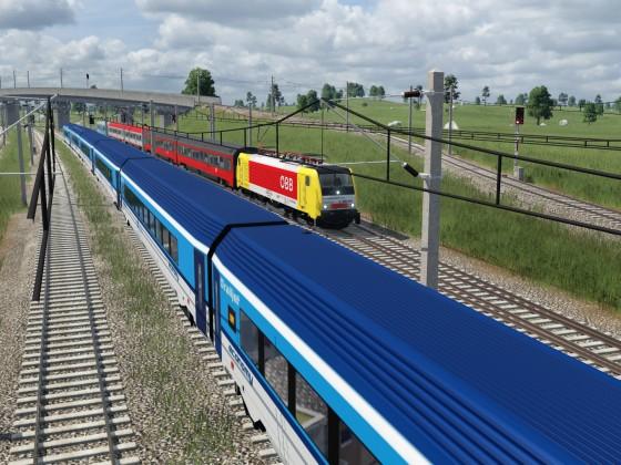 Der Intercity 500: Eigentlich regional, aber trotzdem weit weg.