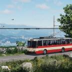 [TpF1] Crimean mountain trolleybus #1