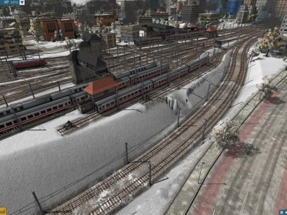 Detail linkes Bahnhofsvorfeld