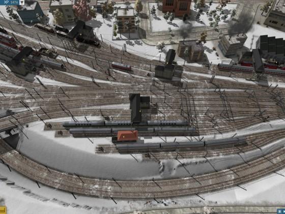 linkes Bahnhofsvorfeld ohne Linien