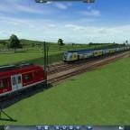 Metronom und S-Bahn treffen sich am Endbahnhof