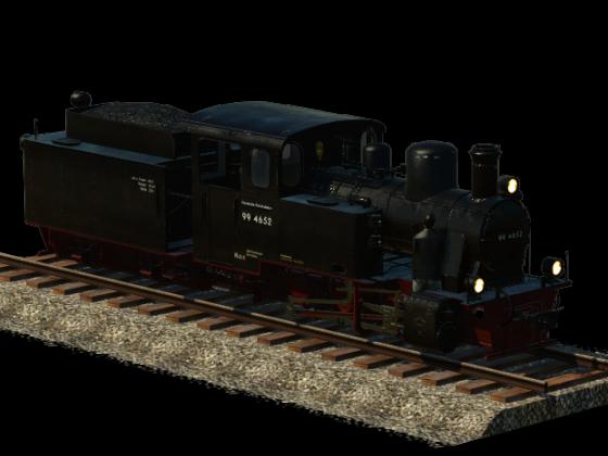 Henschel HF110C - Rügensche Kleinbahn