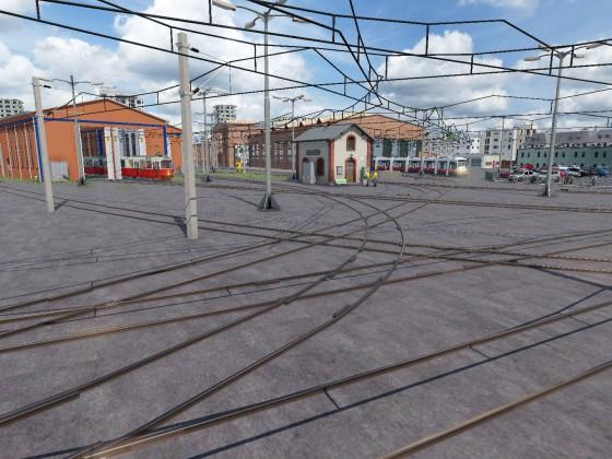 Straßenbahnremise