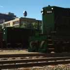 """""""Jersey Central Lines"""" Alco HH 600 and GP7"""