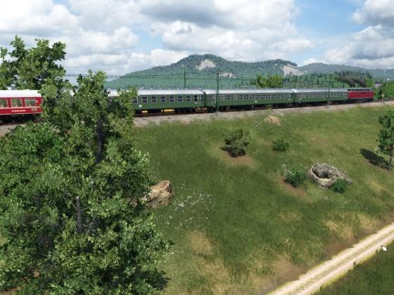 Mit der Schwarzwaldbahn gen Süden...
