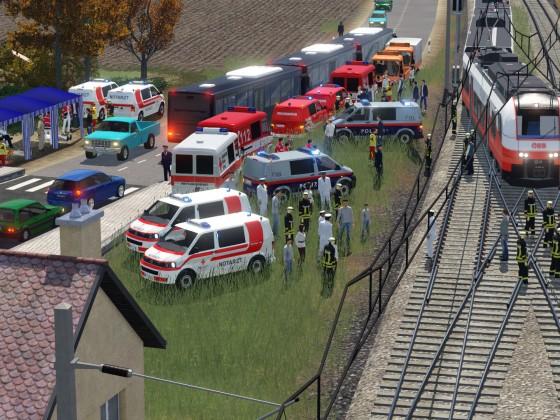 Zugunglück in Pitten