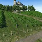 Wallfahrtskirche und Klosterwein