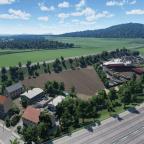 Aussicht nach Süden - Landschaftsbauer Wustermark