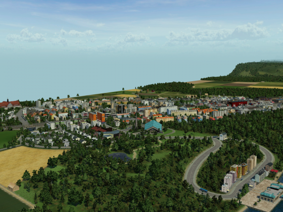 Rheintal Map - Dachsen