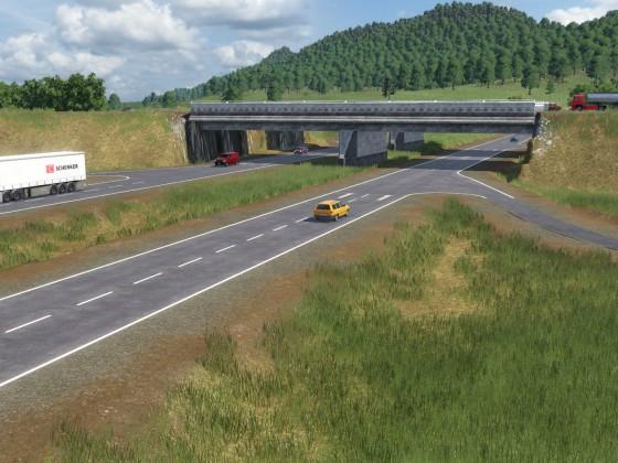 Highway interchange