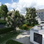 Stiftung Nische Garten mit Neu Anbau