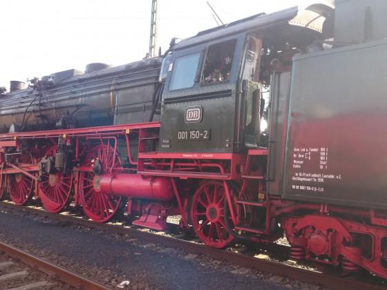 Baureihe 01 der historischen Eisenbahnvereins Frankfurt