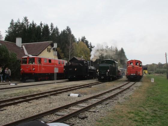 Lokparade der Waldviertelbahn