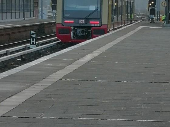 Baureihe 483 bei der Rückkehr ins BW Grünau