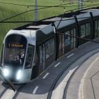 Screenshots von der Testkarte (Straßenbahn)